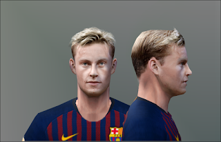 PES 6 Faces Frenkie de Jong by Don_rxf
