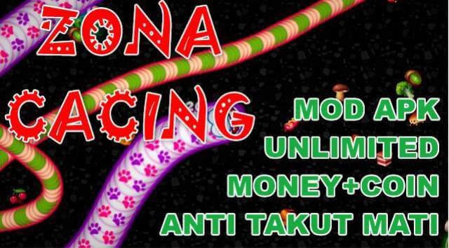 Zona Cacing Mod Apk Unlimited Money Terbaru Anti Takut Mati