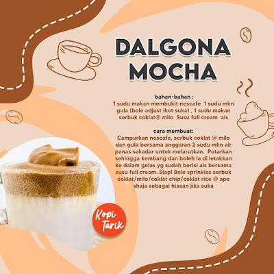 Dalgona Mocha