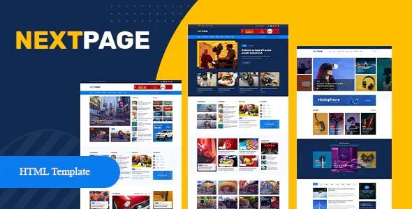 Best Magazine & Newspaper HTML Template