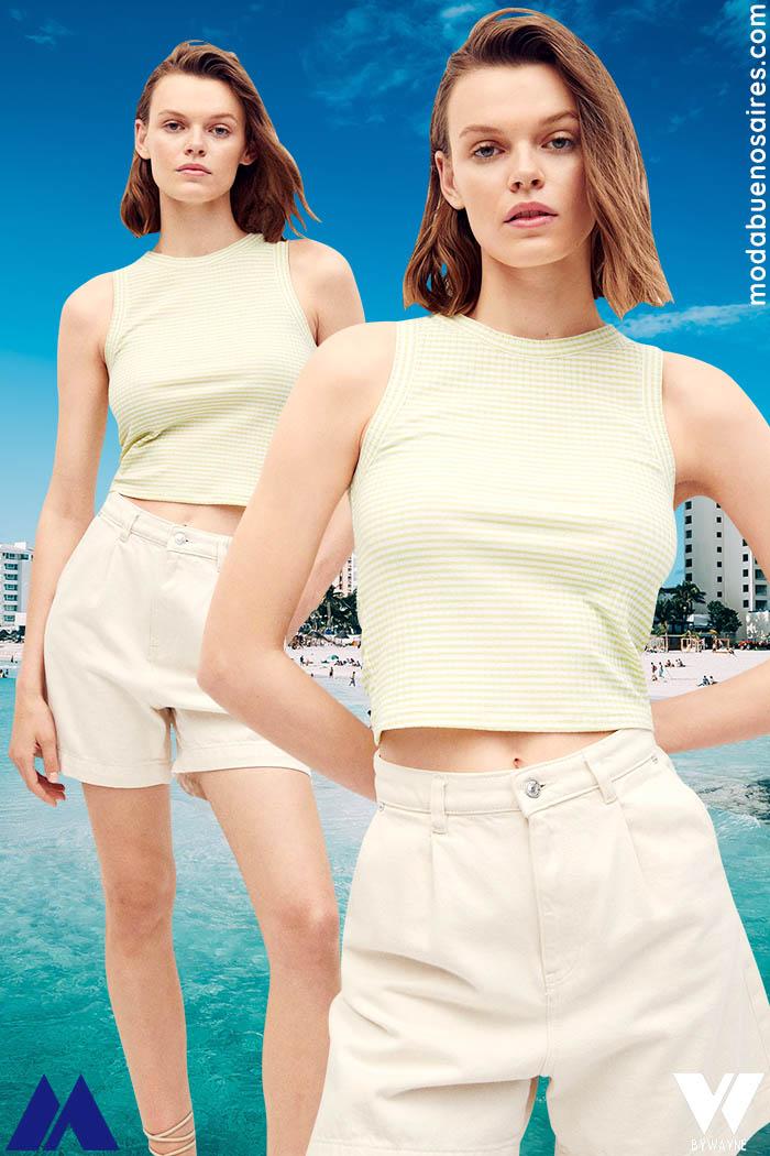 estilo femenino moda casual verano 2022