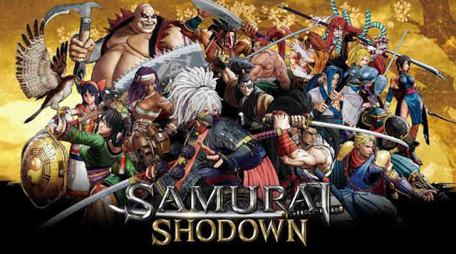 Samurai Shodown NeoGeo Collection locandina