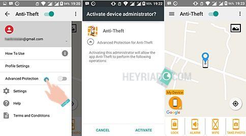 Aplikasi Memfoto Wajah Pencuri Android