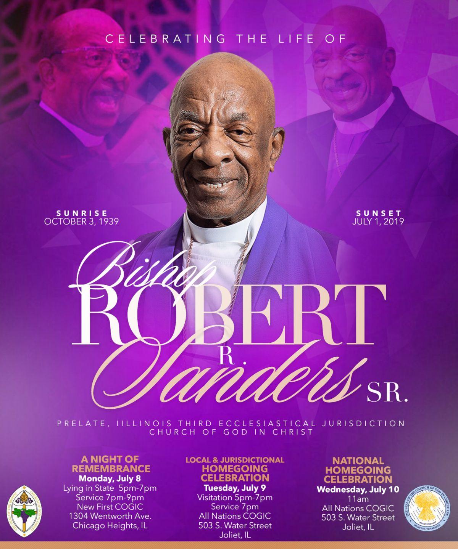 The Dunamis Word: Bishop Robert Sanders IL  3rd COGIC ~ LYA