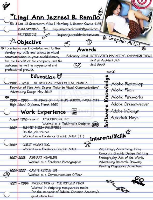 Web Development Resume And cover letter - Landofcode