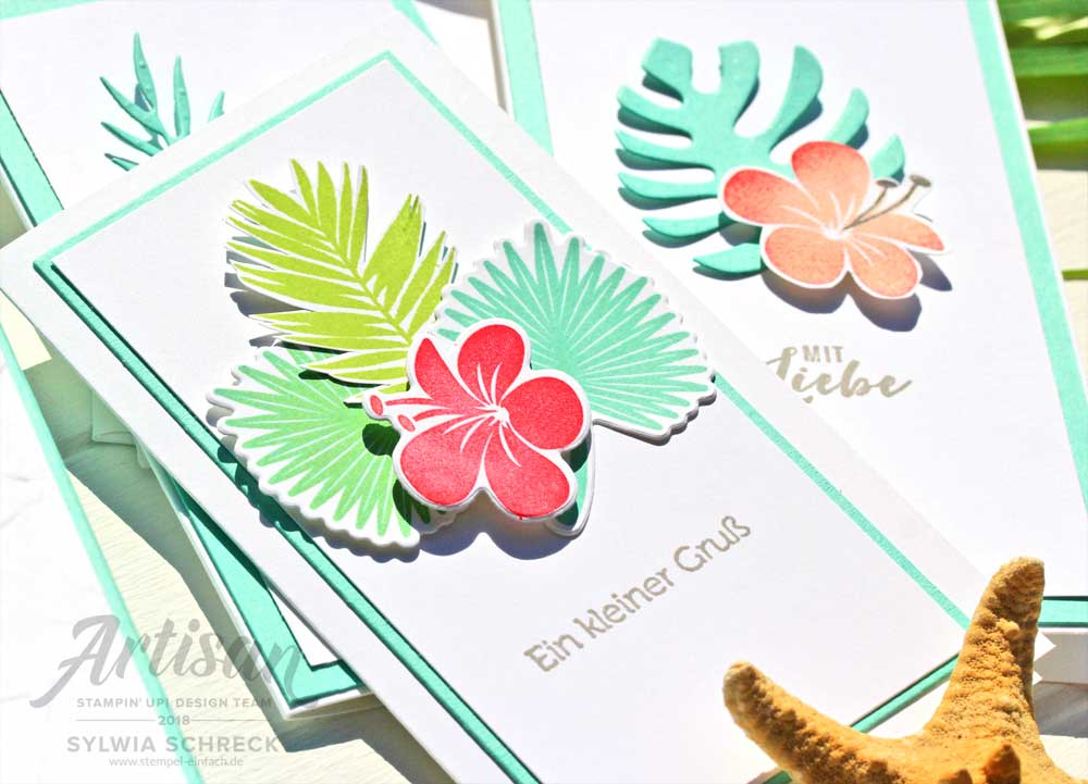 minikarten-stampin up-tropenflair