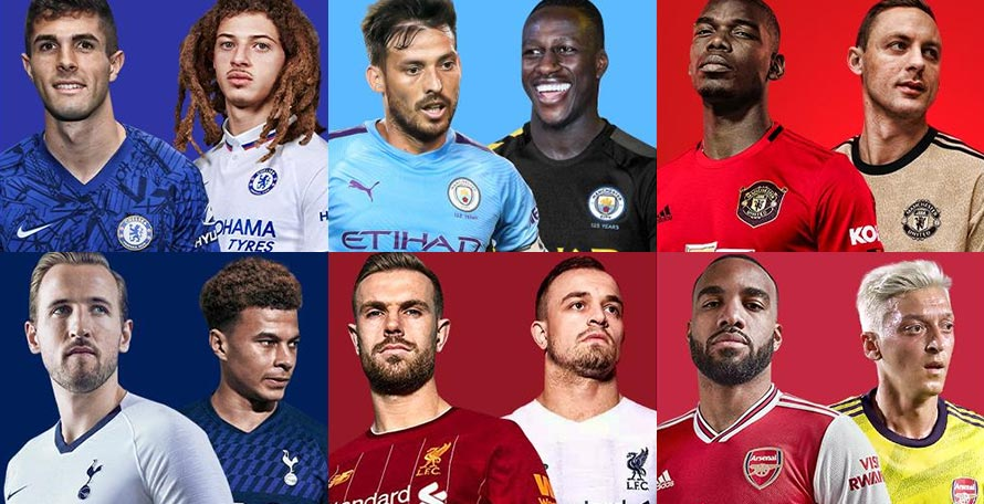Overview: All 19-20 Premier League Kits Leaked / Released So