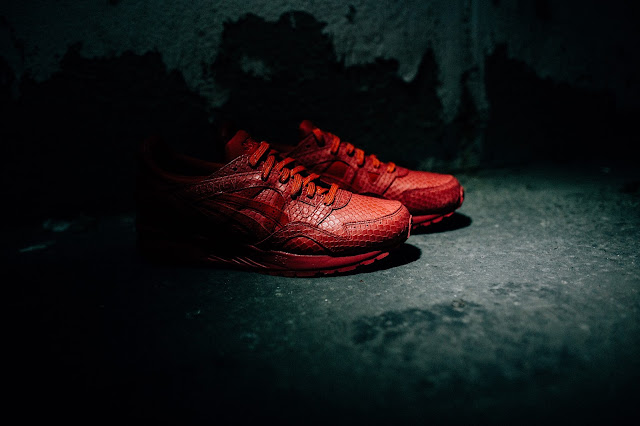 Asics Gel-Lyte 'Snake' Pack | Foot Locker Exclusive im Closer Look | On Feet