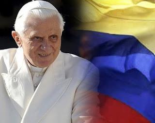 El Papa Benedicto en Colombia
