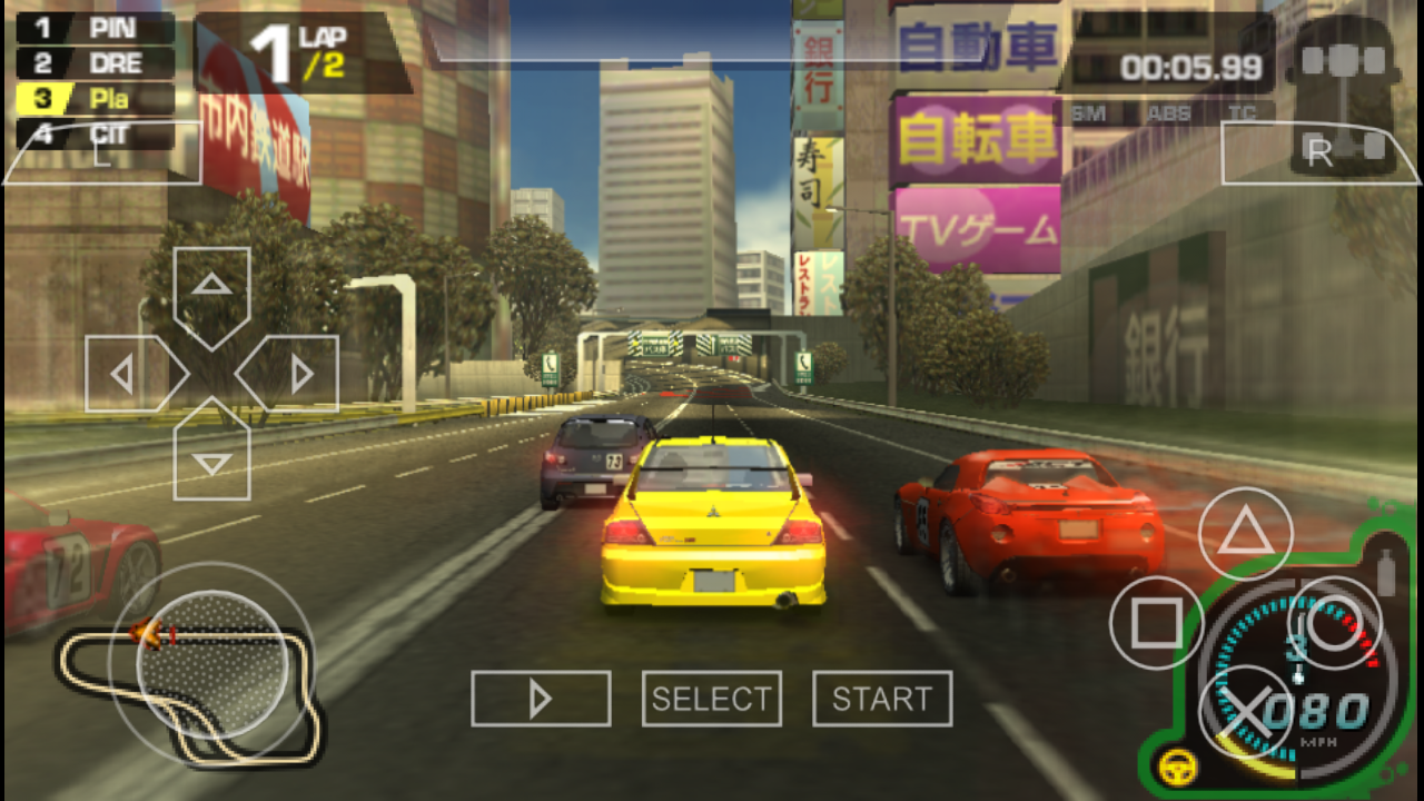 need for speed pro street psp iso