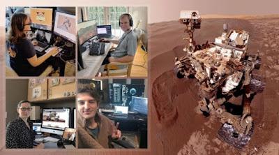 Curiosity Mars cientificos