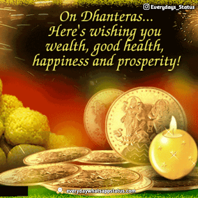 Dhanteras Photo | Everyday Whatsapp Status | FREE UNIQUE 50+ happy Dhanteras Inages Download