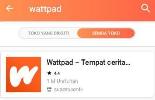 Cara Membaca Wattpad Premium Gratis Tanpa Iklan