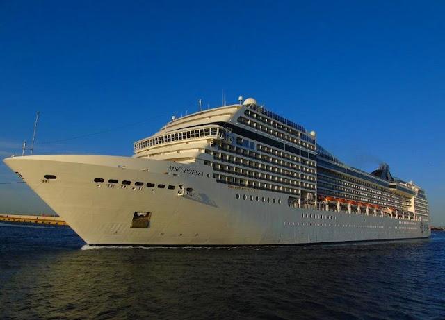 Εκτάκτως το κρουαζιερόπλοιο MSC Poesia στο Ναύπλιο λόγω απεργίας