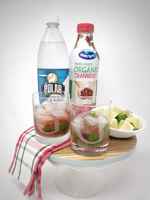 virgin cranberry mojito everyday emily blog