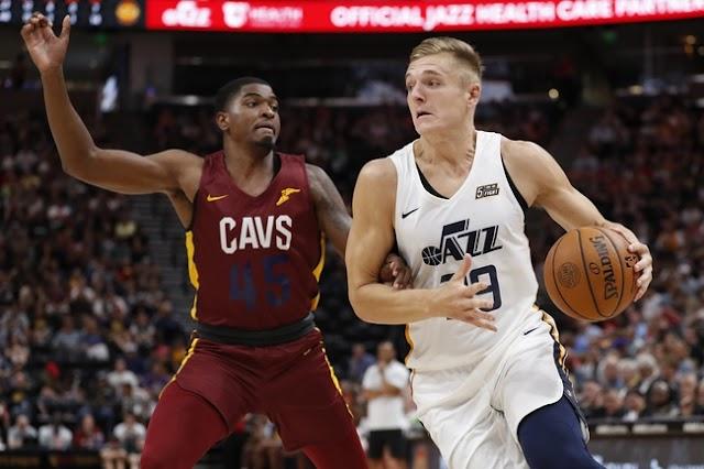 Baloncesto NBA: Cleveland Cavaliers VS Utah Jazz como ver en vivo 02 de Marzo