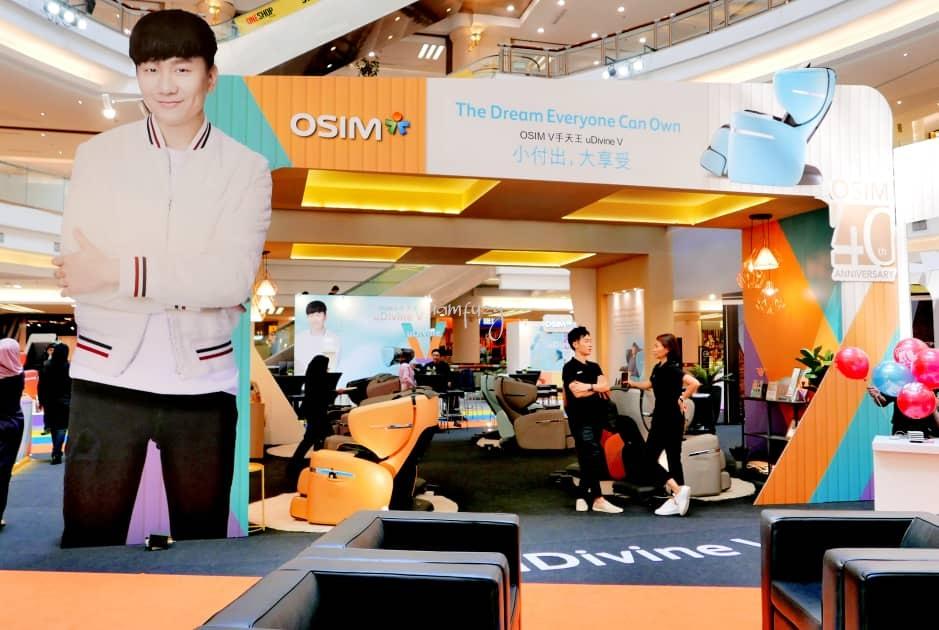 OSIM Memperkenalkan Kerusi Urut Mampu Milik Bagi Memenuhi Impian Setiap Orang