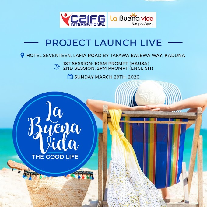 "Be A Part Of This ""La Buena Vida"" (The Good Life) Project Launch Live"