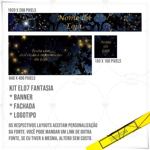 Kit Loja Elo7 Fantasia