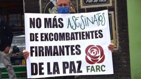 Denuncia exterminio que afrontan ex combatientes de las FARC-EP