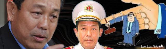 Tin thêm về ông Trung tướng CA - Chánh án Tòa án tối cao Trương Hòa Bình