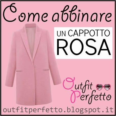 Come abbinare un cappotto rosa