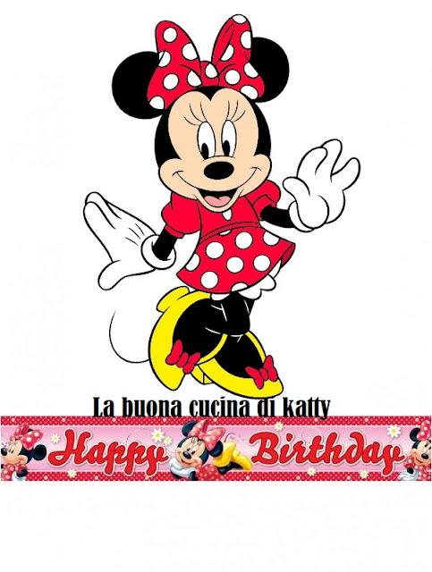 Auguri Di Buon Compleanno Con Minnie Images