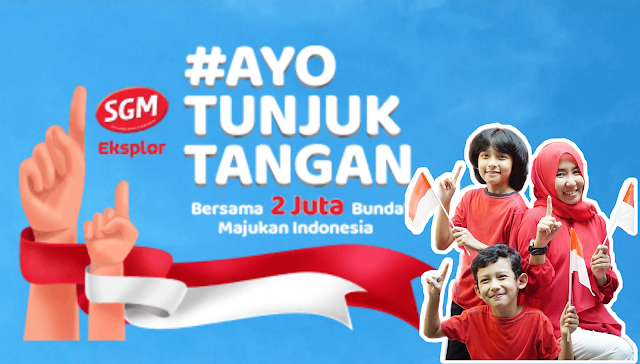 #AyoTunjukTangan Untuk Dukung Generasi Maju Indonesia