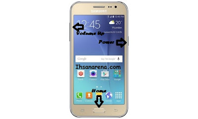 Cara Factory Reset Samsung Galaxy J2 J200F