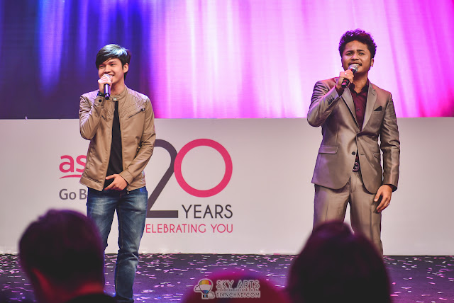 Amir and Hafiz from Akademi Fantasia @ Astro's 20th Anniversary Celebrations