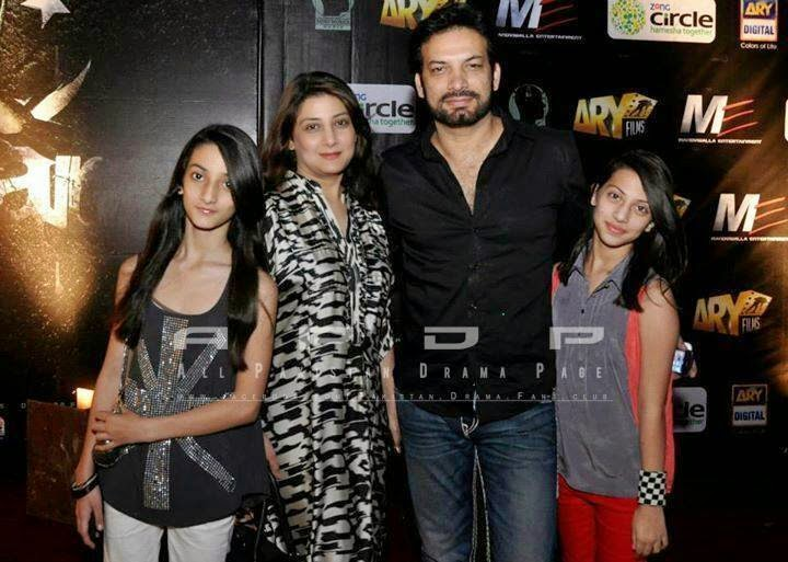 Saleem Sheikh with his Wife and Daughters at Recent Event ...