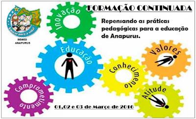 Secretária de Educação de Anapurus realiza formação pedagógica