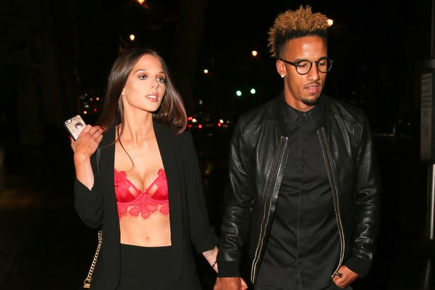 Helen Flanagan turns heads in red rose bra so romantic celebrities celebrate Valentine's Day