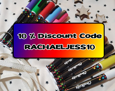 10 chalk markers