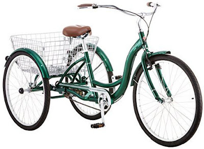 Schwinn Meridian Adult Trike Three Wheel Cruiser Bike