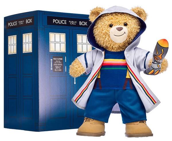 Build-A-Bear presenta su nueva colección de Dr Whio