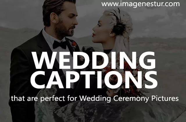 Best Instagram Wedding Captions for Guest Friend (Good Clever Funny)