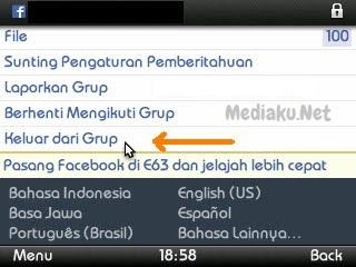Cara Keluar Di Grup Lewat Aplikasi Facebook