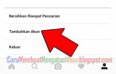 cara membuat 2 akun di instagram