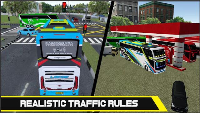 Game Simulator Bus Indonesia Mobile Bus Simulator MOD APK