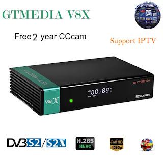 جديد جهاز FREESAT- GTMEDIA_V8X بتاريخ 17-05-2020