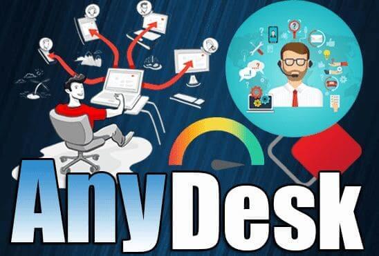 تحميل برنامج AnyDesk 5.5.2 عملاق التحكم بأجهزة الكمبيوتر عن بعد اخر اصدار