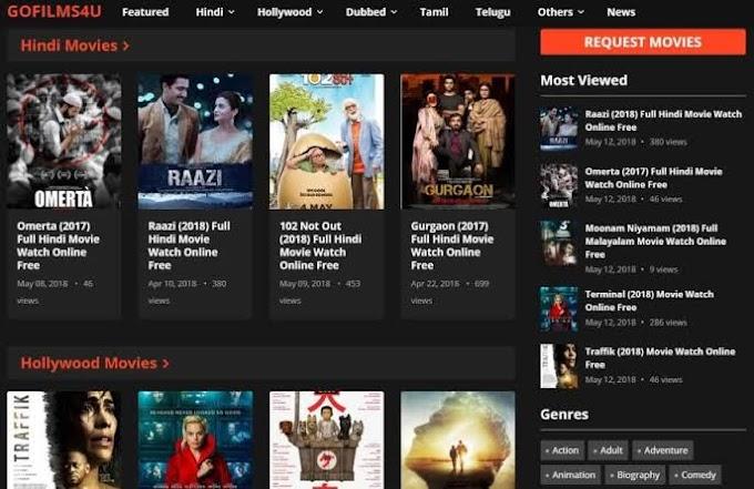Gofilms4u-2021: Watch Bollywood Hindi and Telugu  Movies free Online