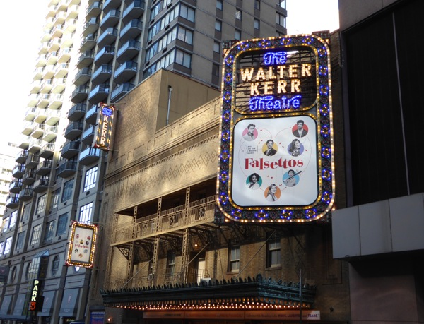 Falsettos musical Walter Kerr Theatre NYC