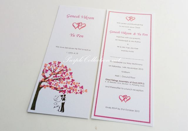 Wedding Invitation Card Print Malaysia, wedding card, invitation card, malaysia printing, kad-kad kahwin, murah, cetak, elegant, simple, pretty, beautiful, bespoke, customise, customize, personalised, personalized,vibrant, peony, floral, flower, export, import, handmade, hand crafted, design, cute, cartoon, online order, purchase, buy, catalogue, kad jemputan, perkahwinan, save the date, engagement, christian, baby birthday card, decoration, items, envelope, pearl, art card, offset, inkjet, boarding pass, travel, passport card, photo card, chinese, western, malay, booklet, church, china, australia, canada, usa, singapore, sydney, melbourne, perth, cairns, canberra, victoria, gold coast, adelaide, nsw, vancouver, ontario, new york, california, malaysia, johor bahru, melaka, seremban, penang, ipoh, perak, bentong, pahang, kuantan, cameron highlands, sabah, sarawak, kota kinabalu, kuching, miri, bintulu, labuan, brunei, perlis, kedah, terengganu, modern, ivory, peonies, wishing tree, love, hearts, silhouette couple, Glad Tidings Assembly of God, GTPJ, Petaling Jaya, Jalan Bersatu, Holy Matrimony