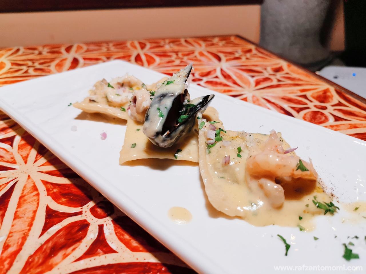 A Taste Of Italy 4 Course Set Menu Dari Chef Roberto Panareillo Di Villa Danieli, Sheraton Imperial Kuala Lumpur Hotel