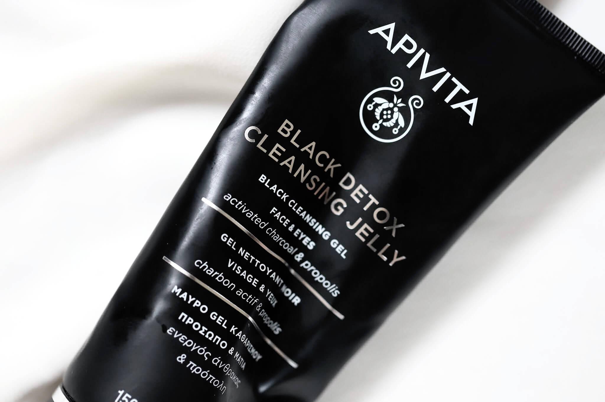 Apivita Black Detox Jelly Nettoyant Visage