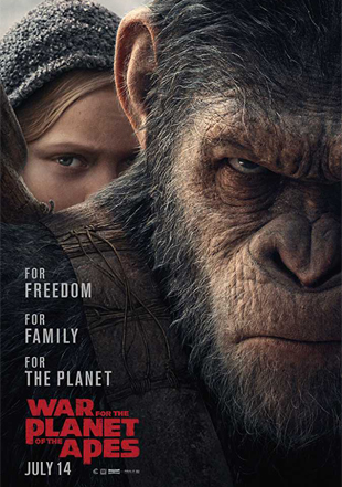 War for the Planet of the Apes 2017 BRRip 720p Dual Audio In Hindi English