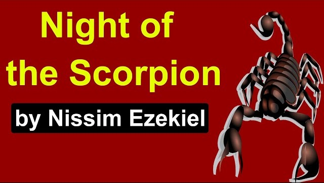 Summary of Night of the Scorpion by Nissim Ezekiel