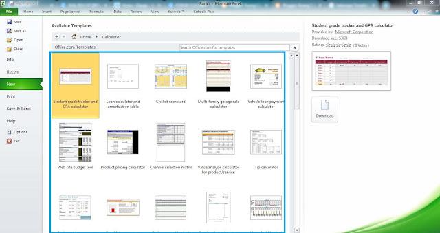 Workbook Excel